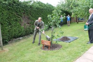 Prince Edwards 50th Birthday | Minstead Trust | New Forest | Hampshire | Lyndhurst | Tree Planting