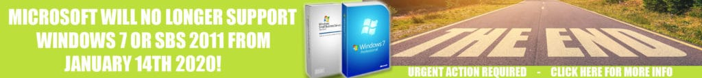 Windows 7 End Of Life | Small Business Server 2011 End Of Life | Server 2008 End of Life | Microsoft Exchange 2010 End of Life | Microsoft Office 2010 End of Life | Netley