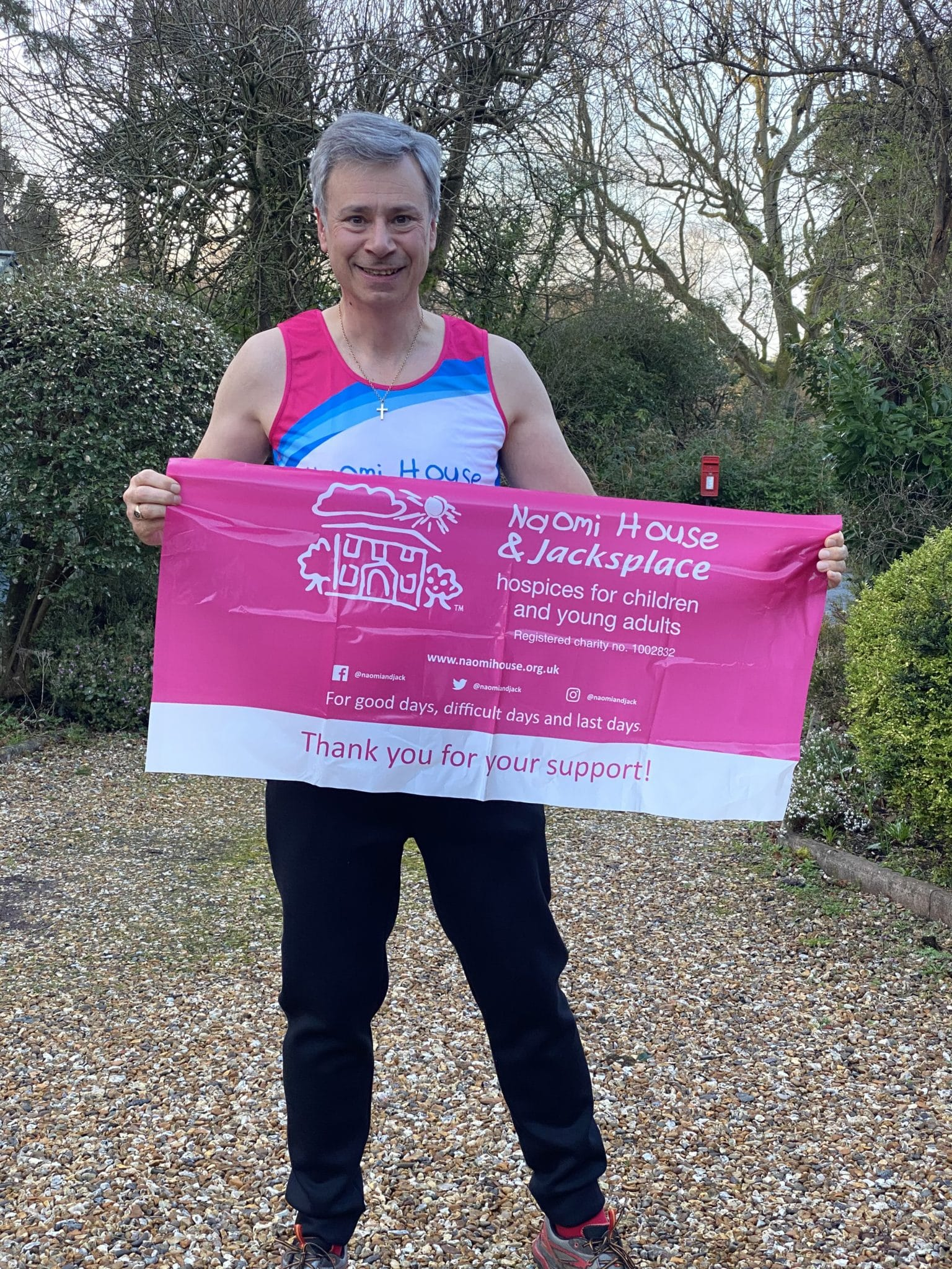 Naomi House Spring into Action | 31 miles in 31 days | Fundraising sponsored event | Rick Burt | Rick Burt Century IT Services | Century IT Services | IT Services Southampton | IT Services Hampshire | IT Services Dorset | IT Services Wiltshire | IT Services West Sussex