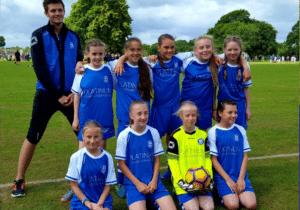 Netley U13 Girls Football Team